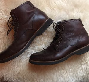 Ugg Men's Brown Leather Moreau Lace Up Boots for Sale in San Diego, CA