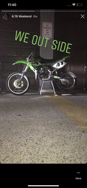 Kx 100 looking to trade for a car or cash want 1200 for Sale in The Bronx, NY