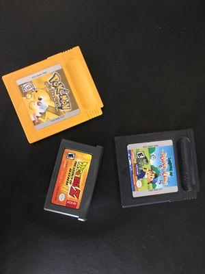 Pokémon dbz games Nintendo for Sale in Cypress, CA
