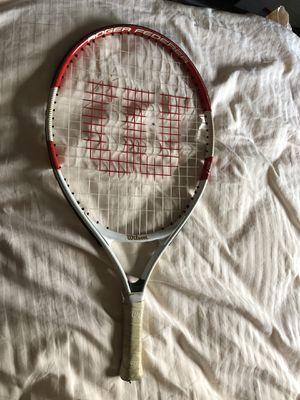 Wilson Federer 21 Junior Tennis Racket for Sale in Marietta, GA