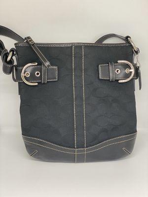 COACH Black Canvas Hobo Bag for Sale in Orlando, FL