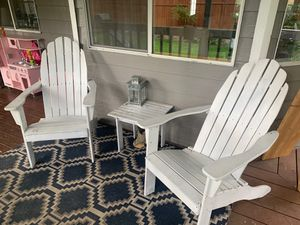 *pending pickup * Wood Adirondack chairs for Sale in Tacoma, WA
