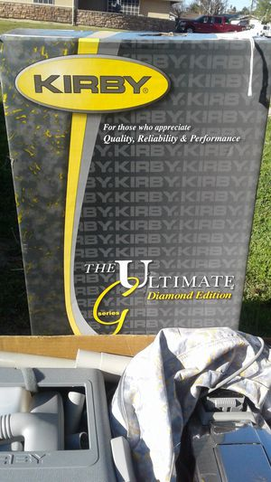 KIRBY DIAMOND EDITION VACUUM CLEANER 170.00 for Sale in Bakersfield, CA