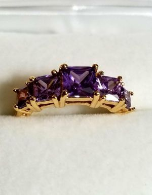 Lovely purple Amethyst Ring Size 7 for Sale in Lake Stevens, WA