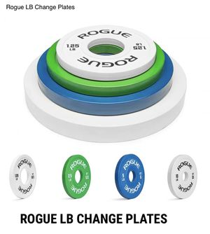 Rogue Fitness LB Change Plates FULL SET for Sale in Plainfield, IL