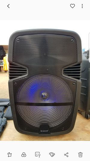 IQ sound 15 in tailgate speaker for Sale in Norwalk, CA