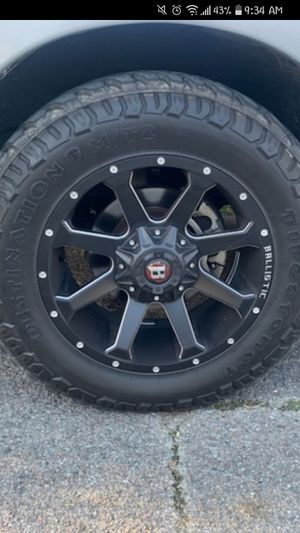 Rims and tires for Sale in Beaumont, TX
