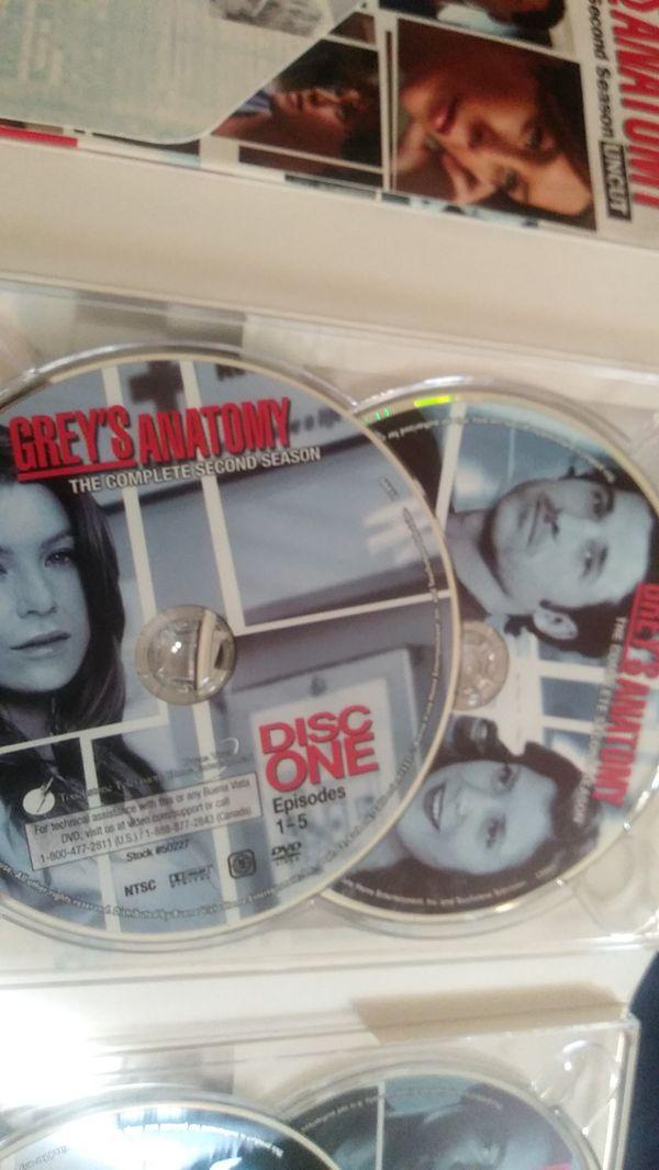 Greys Anatomy complete second season!!