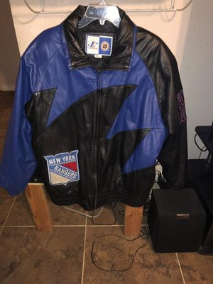 New York Rangers leather jacket RARE for Sale in Austin, TX
