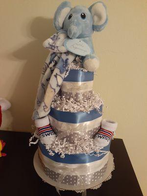 Diaper Cake Baby Boy for Sale in Eustis, FL