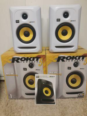 MINT Krk rokit 5 gen 3 Studio Monitors / speakers for Sale in Missoula, MT