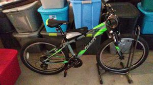 Green and gray mountain bike for Sale in Grand Junction, CO