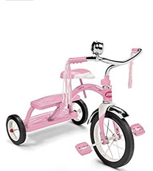 Radio Flyer Classic Pink Dual Deck Tricycle Ride On for Sale in Brentwood, NC