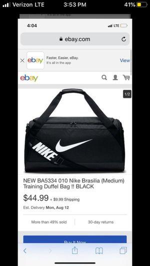 nike duffle bag for Sale in El Cajon, CA