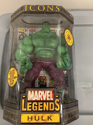 Marvel legends icons Hulk for Sale in Anaheim, CA