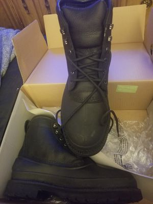 Woman's size 10 composite toe work boots for Sale in New York, NY