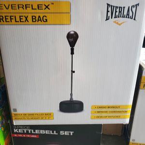 Reflex Speed Heavy Boxing Bag Everlast Everflex for Sale in Long Beach, CA