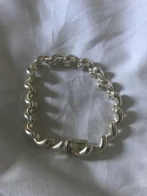 Women's Italian Sterling Silver Bracelet for Sale in Chicago, IL