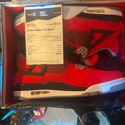 Jordan 4 Retro Toro Bravo/Size13 *NEW for Sale in Kirkland,  WA