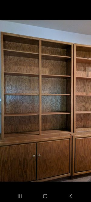 Wood bookshelves for Sale in Spring Valley, CA