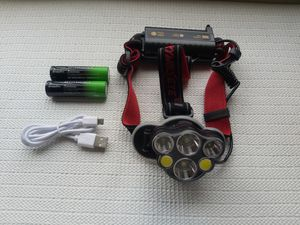 USB Rechargeable Headlamp Headlight Flashlight Lamp Toch Light for Sale in San Diego, CA