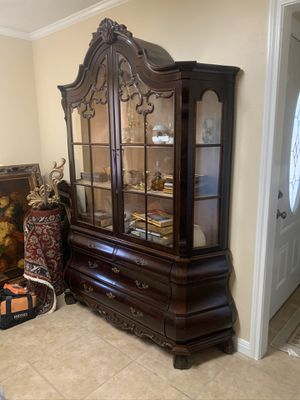 Antique China cabinet for sale for Sale in Dallas, TX