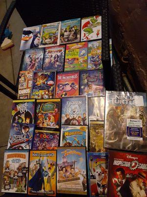 kids disney movies dvds blu ray for Sale in San Diego, CA