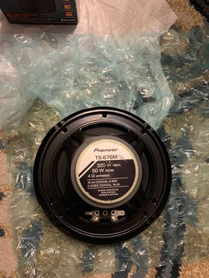 "Pioneer TS-676M 6.5"" 3-Way Full Range Car Speaker 320W (Pair) for Sale in Melrose, MA"