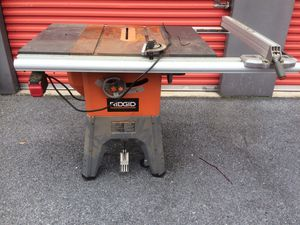 13 Amp 10 in. Professional Cast Iron Table Saw Model R4512 $399 for Sale in Clinton, MD