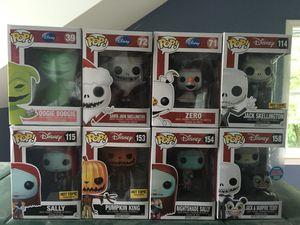 Funko Pop!: Disney's 'The nightmare before Christmas' set for Sale in Bridgeport, CT
