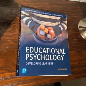 Educational Psychology: Developing Learners Textbook 10th edition for Sale in Fort Lauderdale, FL