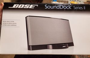 Bose Sound Dock Series II for Sale in Norco, CA