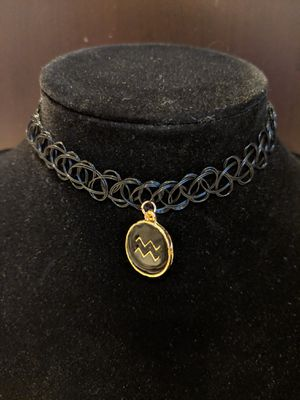 Aquarius Zodiac Sign Choker Necklace for Sale in Manassas, VA