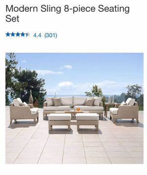 Patio furniture 8 pcs!!! for Sale in Weehawken, NJ
