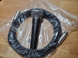 Shure SM58 vocal microphone for Sale in Dallas, TX