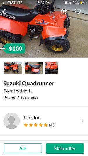 Suzuki 185 seized for Sale in Tinley Park, IL