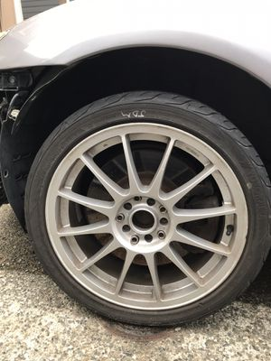 17x7 enkei circle rims no tires 114.3 +50 for Sale in Puyallup, WA