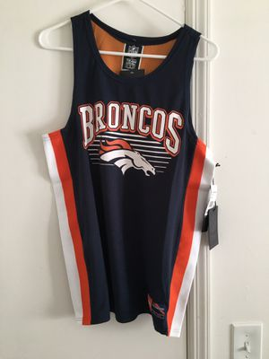 NWT Mens Denver Broncos Tank Top Jersey for Sale in Tampa, FL