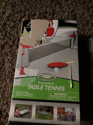 tennis table portables for Sale in West Valley City, UT