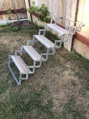 RV Truck Camper stairs for Sale in Rancho Santa Fe, CA