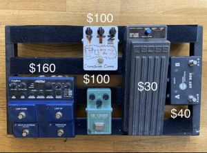 Guitar pedals! $$$$ for Sale in Los Angeles, CA