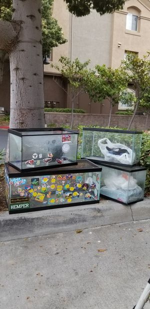 ANIMAL PET REPTILE FURRIES TANKS SUPPLIES DECOR HAMSTER SNAKE FISH for Sale in Chula Vista, CA