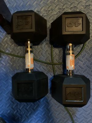 CAP 40 lbs Dumbells for Sale in Piscataway, NJ