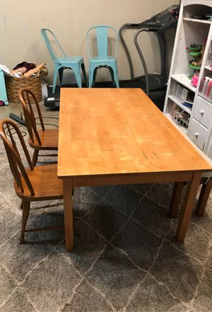 Pottery Barn Kids Table with chairs and bench for Sale in Lake Worth, FL