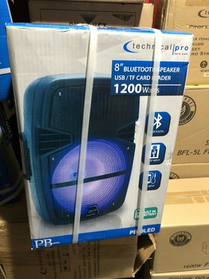 Technical Pro Bluetooth rechargeable speakers on sale today for 55 bucks each for Sale in Los Angeles, CA