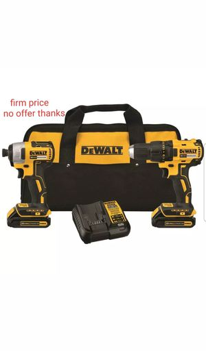 dewalt-dck277c2 20V MAX Compact Brushless Drill / Driver and Impact Driver Kit for Sale in UPR MARLBORO, MD