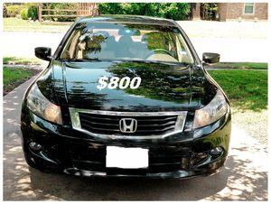 $8OO🔥 Very nice 🔥 2OO9 Honda accord sedan Run and drive very smooth clean title!!!! for Sale in Winston-Salem, NC