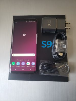 Samsung Galaxy S9, Excellent Condition, Factory Unlocked for Sale in Springfield, VA