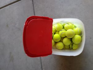 Bucket of tennis balls for Sale in Clovis, CA