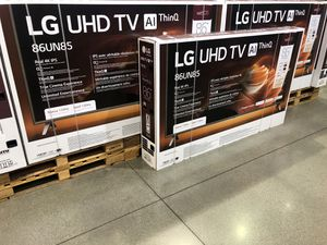 LG 86 inch 4K TV party smart with Warranty for Sale in Huntington Park, CA
